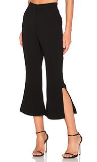 Расклешенные брюки с декоративной полосой - NICHOLAS