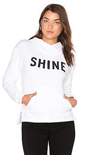 Блестящий пуловер с капюшоном - SUNDRY