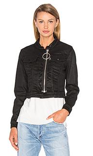 Короткая джинсовая куртка - OFF-WHITE