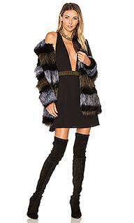 Пальто из искусственного меха antonella - ale by alessandra