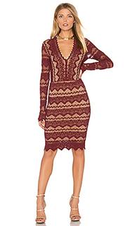 Кружевное платье с v-образным вырезом sierra - Nightcap