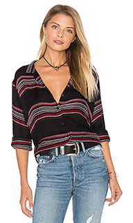Tie front button down - Bella Dahl
