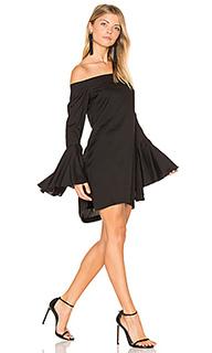 Платье с открытыми плечами bronte - MLM Label