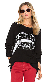 Kass lace up pullover - Lauren Moshi