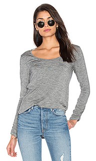Heathered slub long sleeve top - Splendid