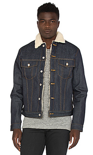 Sherpa jacket - Naked & Famous Denim