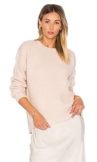 Half cardigan crew sweater - Vince