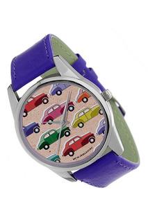 "Часы ""Цветные машинки"" MITYA VESELKOV"