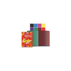 Цветная бумага А4, 8 цветов, 16 листов Tukzar