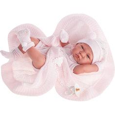 """Кукла-младенец """"Тони"""", в розовом, 42 см, Munecas Antonio Juan"""