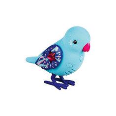 Интерактивная птичка, голубая с красным клювом, Little Live Pets Moose