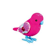 Интерактивная птичка, красная с голубыми лапками, Little Live Pets Moose