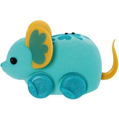 Интерактивная мышка в колесе, голубая, Little Live Pets Moose