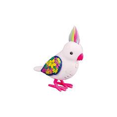 Интерактивная птичка, белая с блестящими крыльями, Little Live Pets Moose