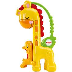 Прорезыватель Жираф, Fisher Price Mattel
