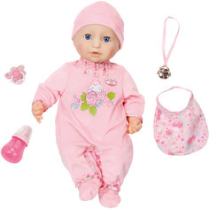 Многофункциональная кукла, 46 см, Baby Annabell Zapf Creation