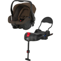 Автокресло PRIMO 0-13 кг., Britax Römer, Wood Brown Trendline + база