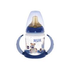 Бутылочка First Choice пласт. (ПП) 150 мл., NUK, голубой