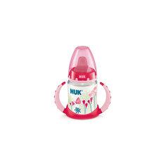 Бутылочка First Choice-поильник пласт. 150 мл., NUK, розовый
