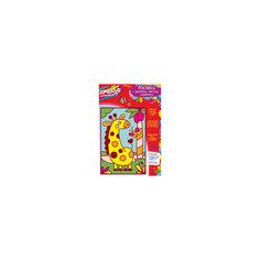 """Роспись цветным песком """"Жираф"""" 17x25 см, КРЕАТТО"""