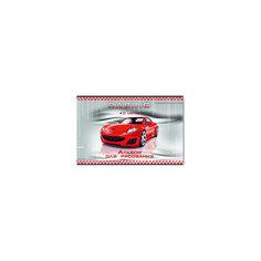 """Альбом для рисования """"Красное авто"""", 40 л Феникс+"""