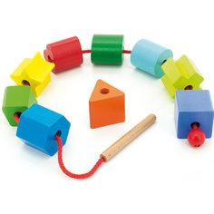 """Бусы """"Геометрия"""", Мир деревянных игрушек -"""