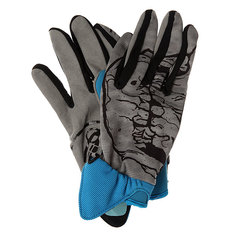 Перчатки сноубордические Grenade Skull Blue