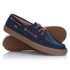 Кеды кроссовки низкие Vans Chauffeur Dress Blues/Gum