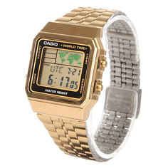 Часы Casio Collection 64120 A-500Wega-1E Gold
