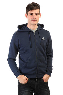 Толстовка классическая Le Coq Sportif Ailier Fz Hood Brushed Dress Blue