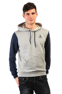 Толстовка кенгуру Le Coq Sportif Helior Po Hood Dress Blues/Light Heath