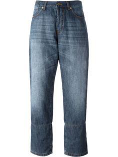 укороченные джинсы Marni