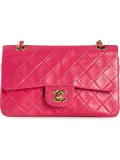 маленькая сумка с откидным клапаном Chanel Vintage