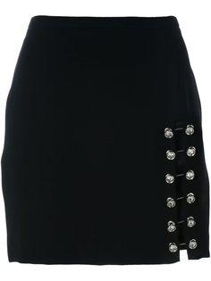 приталенная юбка с заклепками Versus