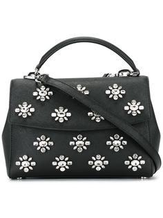 маленькая декорированная сумка-тоут 'Ava' Michael Michael Kors