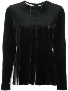 блузка с плиссированным эффектом Giorgio Armani