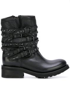 байкерские ботинки 'Tempt' Ash