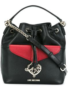 средняя сумка-мешок Love Moschino