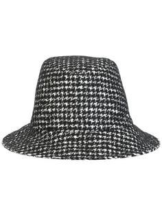 шляпа с принтом в ломаную клетку Dolce & Gabbana