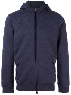 толстовка на молнии с капюшоном Armani Jeans