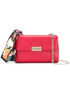 сумка на плечо с цепочной лямкой Love Moschino