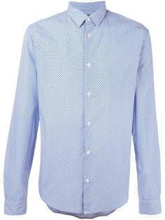рубашка в мелкий горошек Armani Jeans