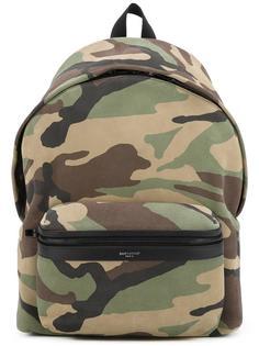 камуфляжный рюкзак 'City' Saint Laurent