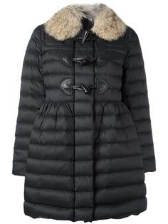 fur collar duffle coat  Red Valentino