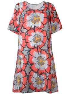 платье-футболка с цветочным принтом Tsumori Chisato