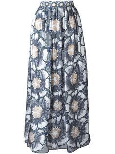 длинная юбка с цветочным принтом Tsumori Chisato