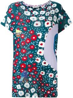 футболка с цветочным принтом Tsumori Chisato