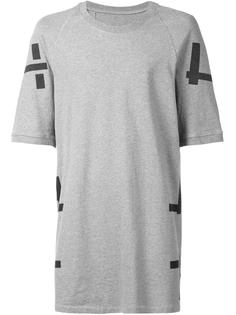 T-pattern T-shirt 11 By Boris Bidjan Saberi
