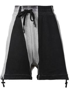 drawstring drop crotch sweatshorts 11 By Boris Bidjan Saberi