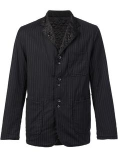 pinstripe shirt jacket Engineered Garments